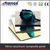 Alusign a2 fireproof mirror aluminum composite panel
