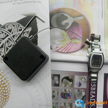 Watch,jewlery security retractable pull box tethers