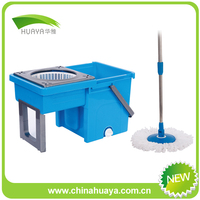 new thick bucket spin rotating mops