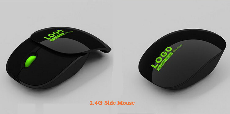 Computer AccessoryWireless Optical Slide Mouse wireless mouse