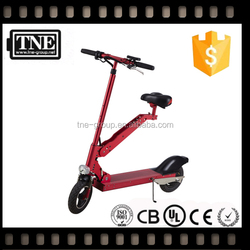 2 year warranty Japan OEM factory 350w 36V electric motorcycle/adult electric scooter with 3 back lights