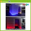 Custom lighting inflatable photo booth sales with led
