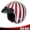 Half dot motorcycle helmet half face helmet