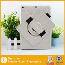 For iPad Air case, for iPad Air leather case, 360 rotating case for iPad Air