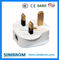 Home applicant, electrical adapter British standard plug,BS 13A plug