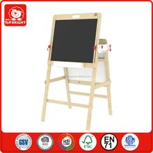 2 pcs block chalkboards up and down adjustment blackboard whiteboard folding wooden reusable color children magic drawing board