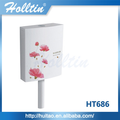 HT686 Plastic Cistern For Squatting WC Pan Water Tank