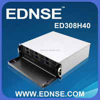 ED308H40 Compact 3U Rackmount PC Server Case with 8 Bay Hot Swap