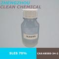 2015 del precio de fábrica, sodio Laurel éter estreptomicina 70% SLES 70% detergente productos químicos desde el proveedor de china, detergente materia prima