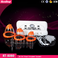 Factory Price In China Breast Suction Cups/Enlargement Vibrating Breast Massager RT-8080