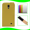 New Design Magnetic Back Closure Up Down Flip Cover Cell Phone Leather Case For Samsung Galaxy Core 4G