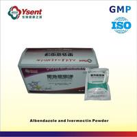 Ysent veterinary powder of ivermectin treatment