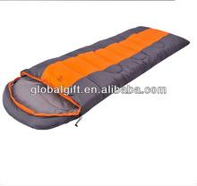 The envelope with hood camping sleeping bag