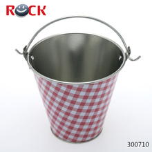stainless clear gallon bucket