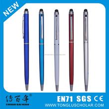 Hot selling promotional plastic plume pen