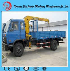 14 ton hydraulic telescopic truck crane manufacturer from China