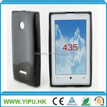 Tpu case for nokia lumia 435 cheap mobile phone case