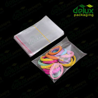 Plastic mailing bags clear opp bag with Self Adhesive