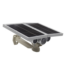 HOT NEW product Energy saving Onvif battery supprot 16G TF card Solar Power Bullet Camera