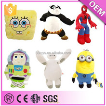 2014 hot selling custom minion plush toy