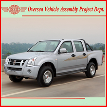 pickup 4wd double cab jinbei pick up truck (skd kits assembly - easy to operate)