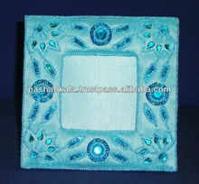 Indian Hand Embroidery Decorative Photo Frame