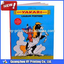 offset impresión de tapa dura libro de catálogo