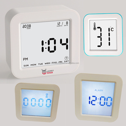 flipping clock digital alarm clock and timer, Chrono-Flip Clock