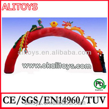 Alitoys cheap Inflatable Arch for advertising and promotion