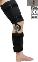 Orthopedic Hinged ROM Sports Flexion Extension Post-OP Knee Brace Support