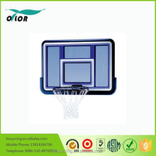 Deluxe blue wall mounting glass basketball board