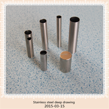 tube products precision stainless steel drawing parts auto spare parts