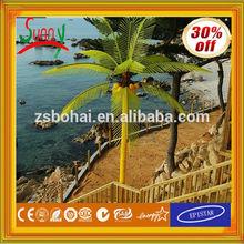 alibaba expresar al aire libre de navidad decorativos de coco palma de la mano del árbol de la luz con el ce rohs gs aea ul