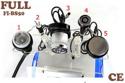 high quality Ultrasound Cavitation slimming Machine with RF heads and vacuum head for body fat burning
