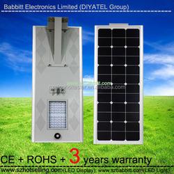 solar power facts / BT-050B 50W Solar Street Light