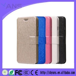 Wholoesale Silk Pattern Waterproof Flip Leather Mobile Phone Cover For Iphone 4 4s