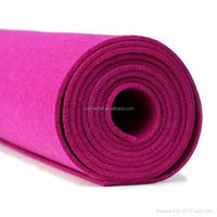 1mm,2mm,3mm...50mm Wholesale needle punched nonwoven polyester felt fabric