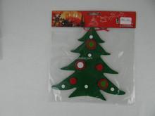 2015 New fashion indian felt wholesale christmas decorations stocking