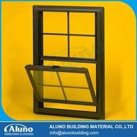Aluminum Up and Down Sliding Window Grilled Design