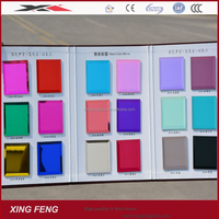 China alibaba high quality decorative colored adhesive mirror