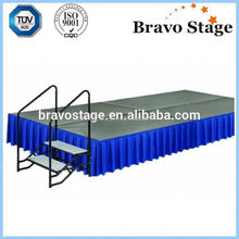 Hot Portable Stage Rental Mobile Stage Organic Stage Manufacturer