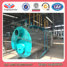 Horizontal type fire tube automatically natural gas or diesel boiler