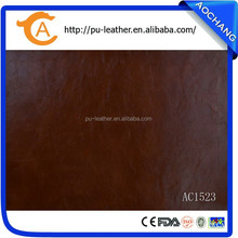 PU Synthetic Leather for Sofa Upholstery
