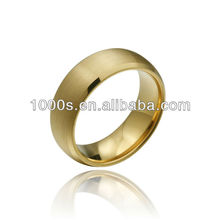 gold mens tungsten ring wholesale