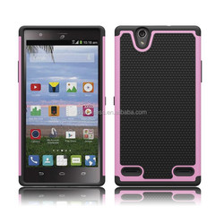 pc silicone phone cover for zte Lever LTE Z936L case,football lines case for zte Z936L
