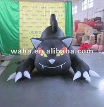 2012 halloween black cat