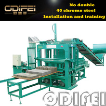 The high rate of finished products brick force making machine