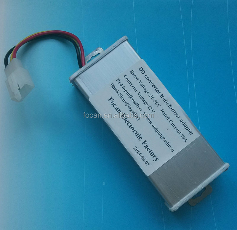 Dc Dc Converters 36 96v Universal To 12v 20a For Electric