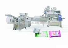 full automatic packing folding wet wipes machine