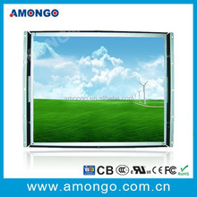 17 inch SAW touch screen high brightness lcd display monitor